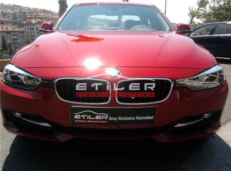 Kırmızı BMW 3.20 Dizel Ön Görünüm