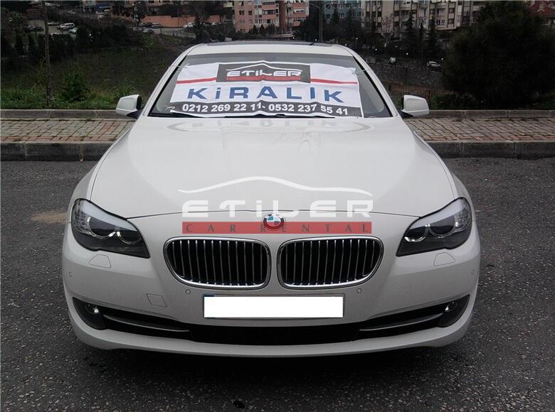 2012 Beyaz BMW 5.20 Dizel Ön Görünüm