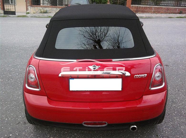 Kırmızı Mini Cooper Arka Görünüm