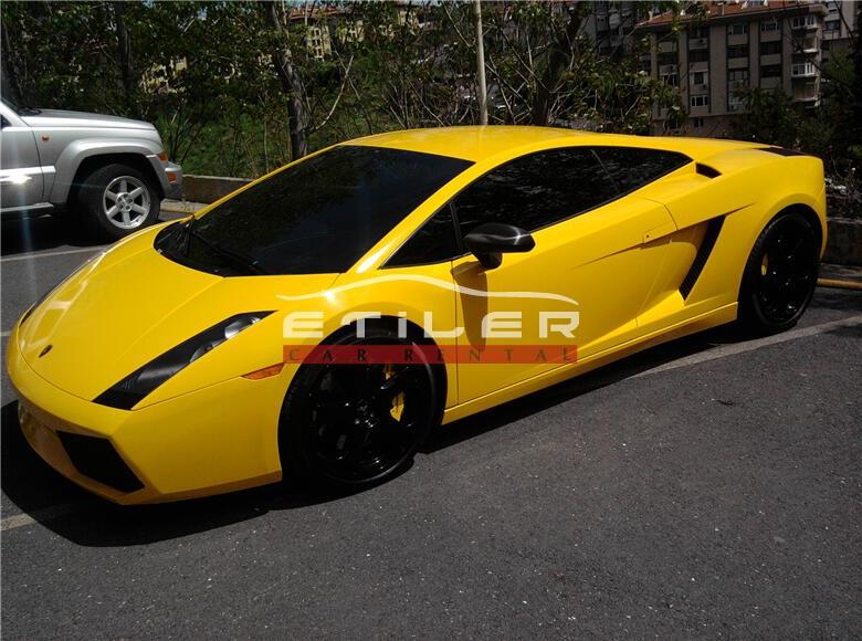 2006 Sarı Lamborghini Gallardo Sol Görünüm