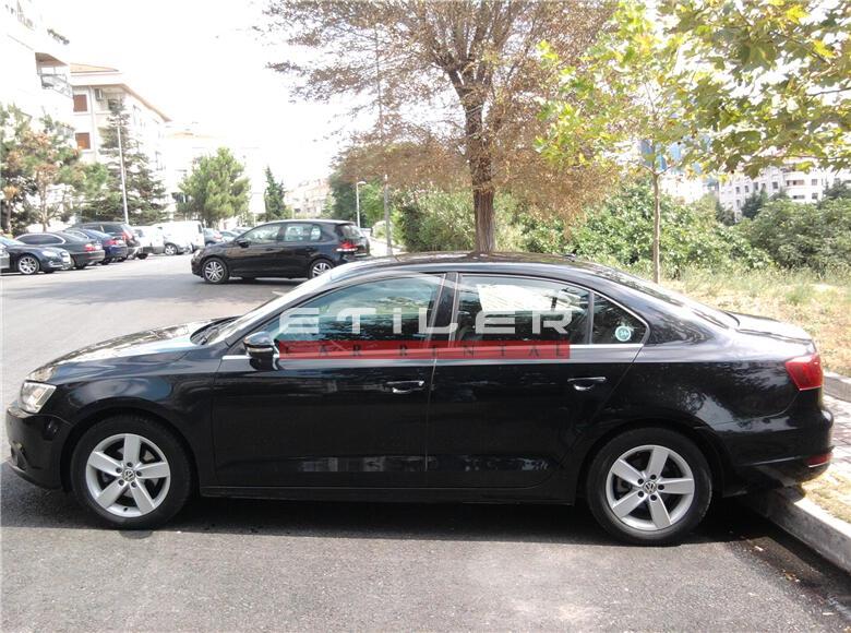 2012 Model Siyah Volkswagen Jetta Sol Görünüm