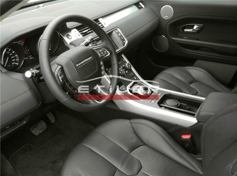 2012 Beyaz Range Rover Evoque İç Görünüm