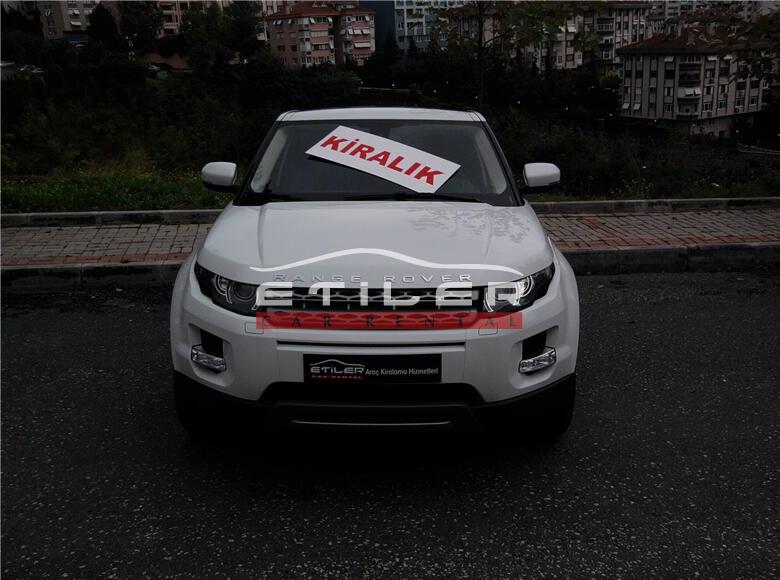 2012 Beyaz Range Rover Evoque Ön Görünüm