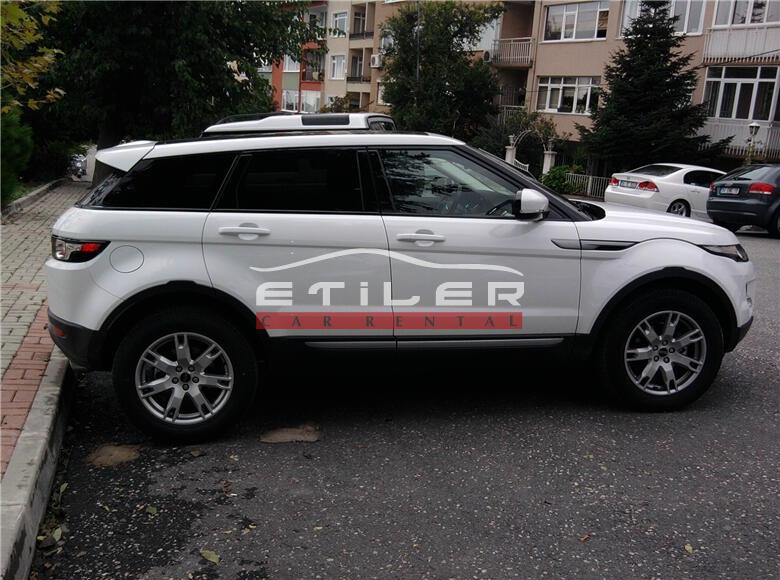 2012 Beyaz Range Rover Evoque Sağ Görünüm