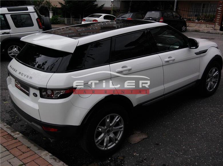 2012 Beyaz Range Rover Evoque Sağ Arka Görünüm