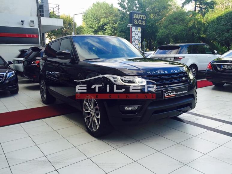 Siyah Range Rover Sport