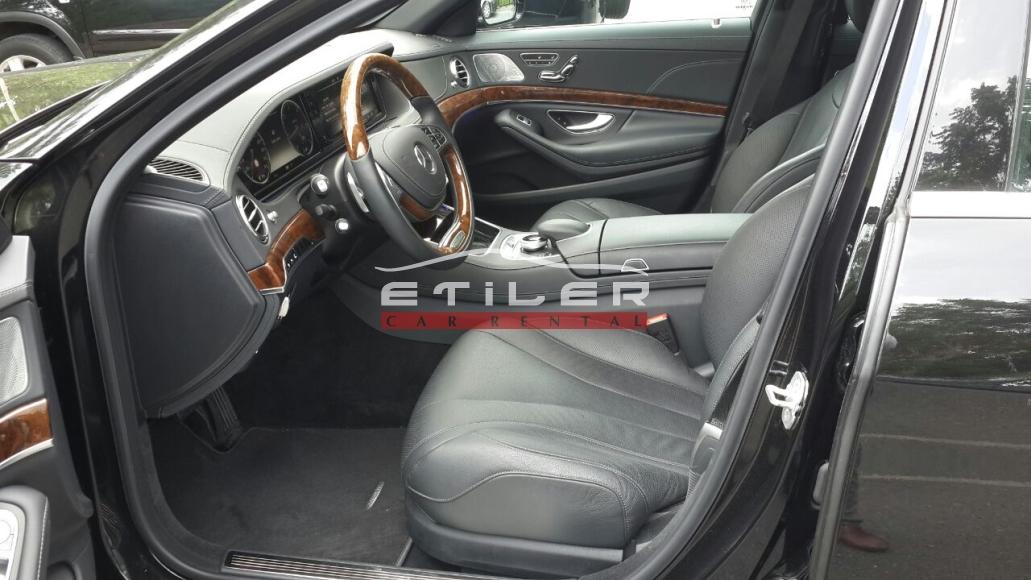 2014 model siyah Mercedes S350