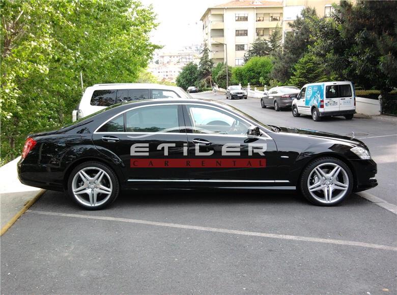 2012 Siyah Mercedes S350 CDI L 4 matıc Sağ Görünüm